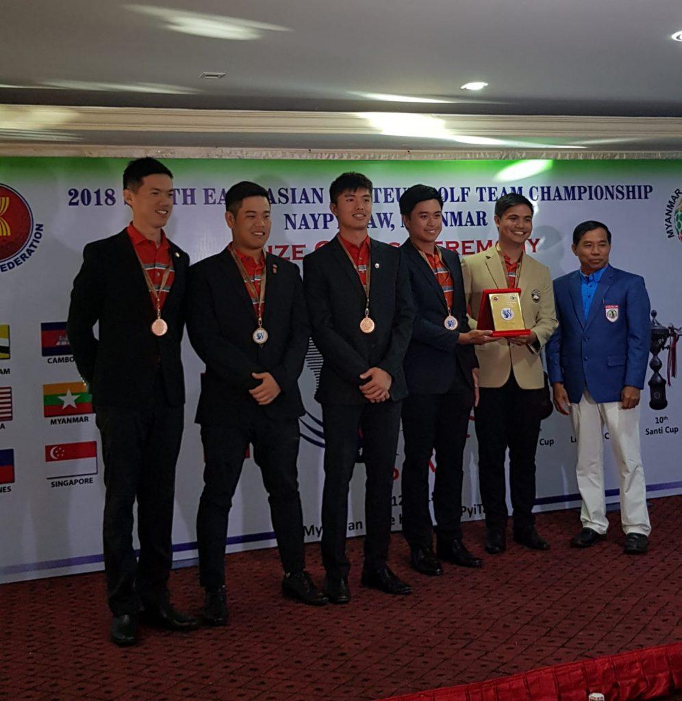 Asian Amateur singapore golf association